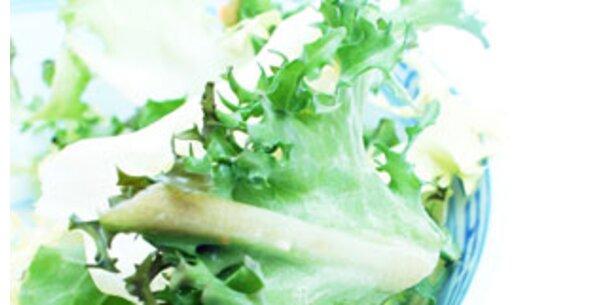 Bio-Kopfsalat am stärksten pestizidbelastet