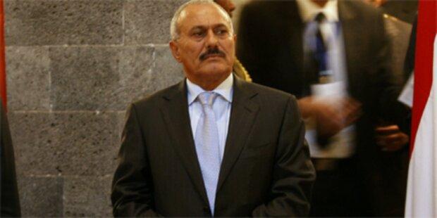 Jemenitischer Präsident dankt ab