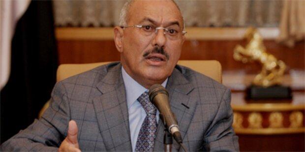Saleh überlebt Angriff auf Palast