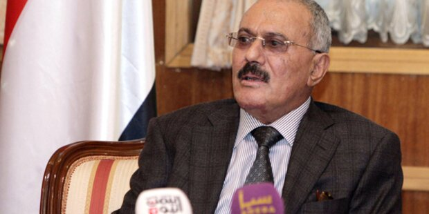 Jemens Präsident ausgereist