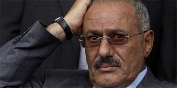 Jemens Präsident auf Weg nach Saudi-Arabien
