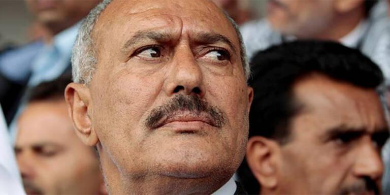 Jemens Präsident kündigt Rücktritt an