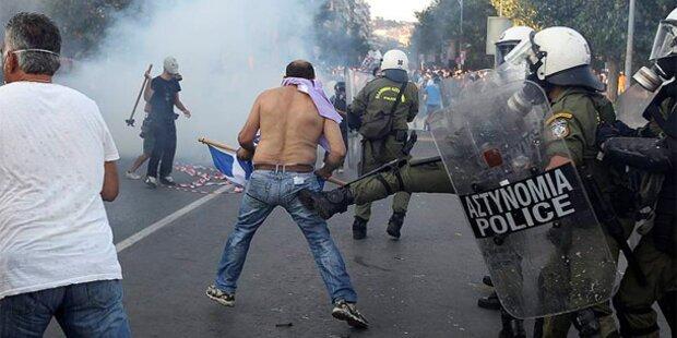 Griechenland: Wut gegen Sparpaket