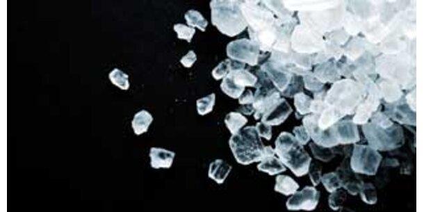 Salz sparen verlängert Ihr Leben