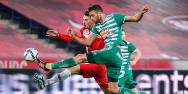 Salzburg gegen Rapid