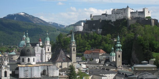Salzburg an der Spitze
