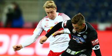 Salzburg zerlegt Sturm mit 5:0