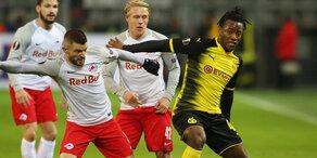 Salzburg vor Rückspiel gegen BVB