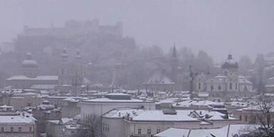 Winterliches Comeback in Salzburg