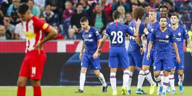Das war das Match gegen den FC Chelsea