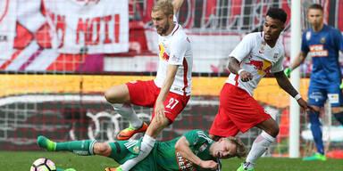 Salzburg kämpft um historischen Erfolg