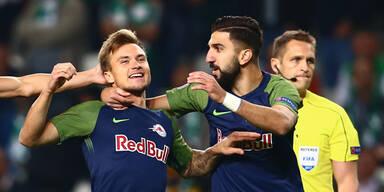 Fußballmeister auch im dritten EL-Gruppenspiel ungeschlagen