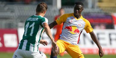 Duell mit dem SV Mattersburg
