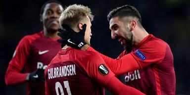 Rapid kracht auf Inter, Bullen gegen Brügge