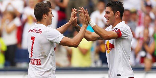Salzburg fegt mit 8:0 über Grödig hinweg