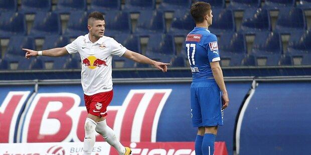 Red Bull Salzburg deklassiert Wr. Neustadt mit 6:0