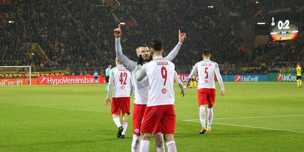 Unheimliche Serie: Salzburg wie Ajax