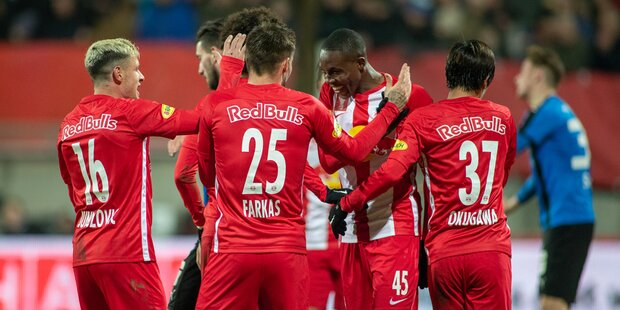 FC Red Bull Salzburg gegen LASK Linz
