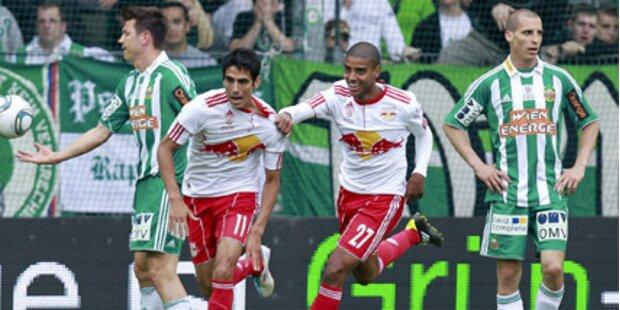 Fußballmeister Salzburg gewinnt Schlagerspiel gegen Rapid