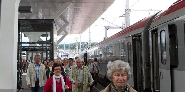 Salzburg: Bombendrohung am Hauptbahnhof