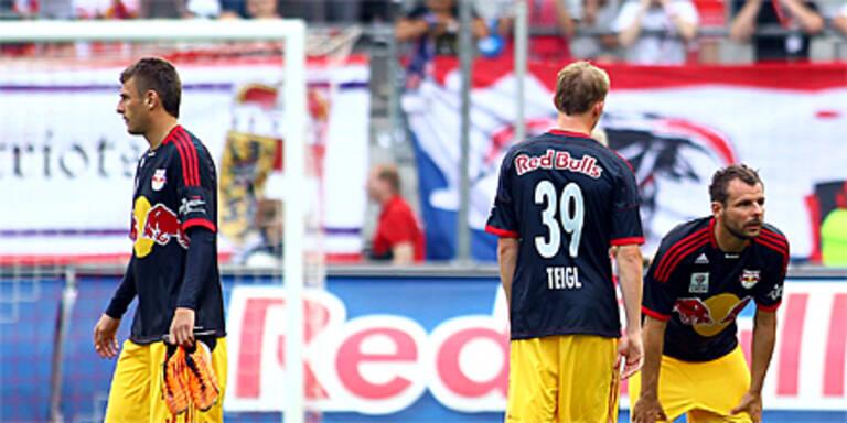 Totaler Frust bei Red Bull Salzburg