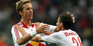 Salzburg zeigte Zauberfußball