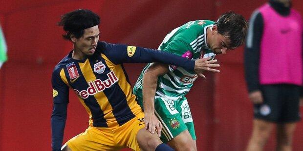 Heimspiel der Bullen gegen Rapid Wien