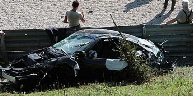 Schwerer Unfall am Salzburgring: 1 Toter