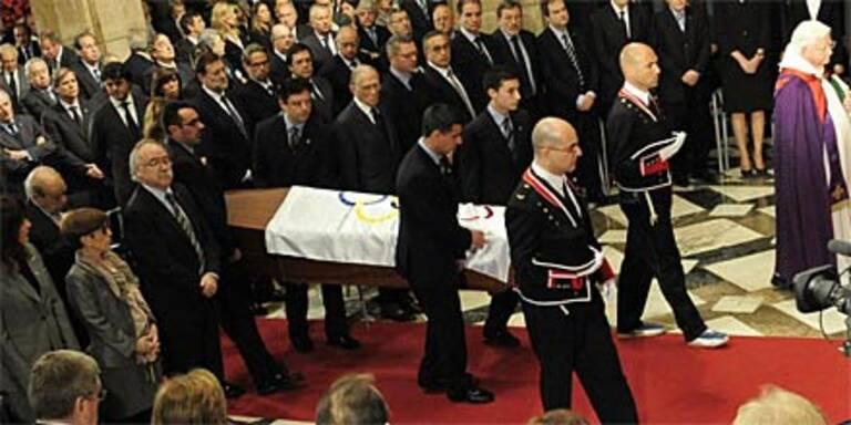 Spanien nimmt Abschied von Samaranch
