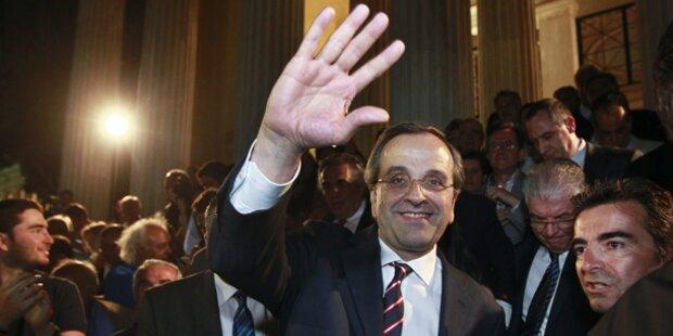 Samaras neuer griechischer Regierungschef