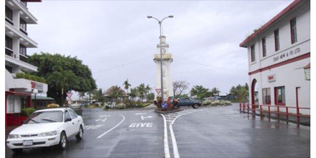 Samoa wechselt die Seiten
