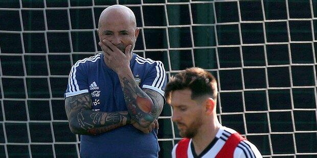 Fan-Skandal um Argentinien-Teamchef