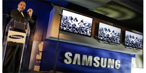Samsung: 3D-TVs und E-Book-Reader