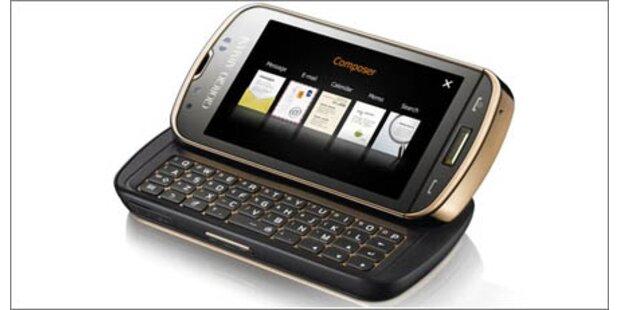 Armani-Smartphone startet gegen das N97