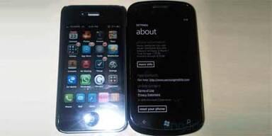 Windows Phone 7 Handy von Samsung