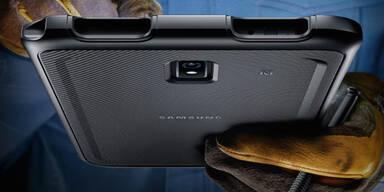 Samsung bringt ein neues Outdoor-Tablet