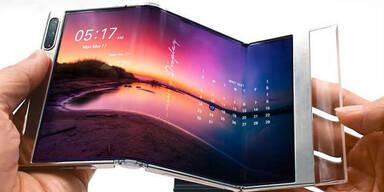 Samsung zeigt mehrere neue faltbare Geräte