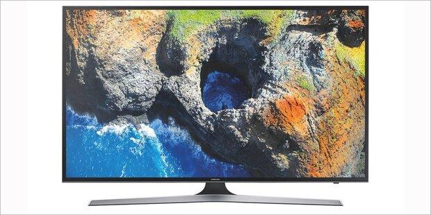 Edler Samsung 4K-TV mit HDR bei Hofer