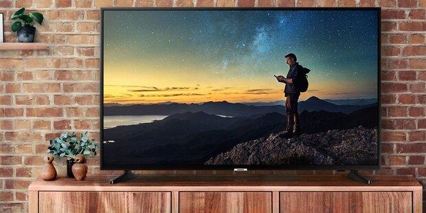Hofer verschleudert edlen Samsung 4K-TV