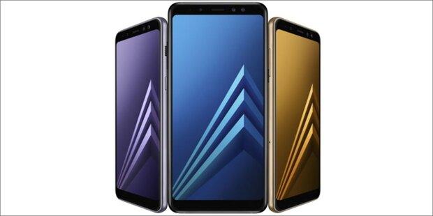 Samsung greift mit Galaxy A8 (2018) an