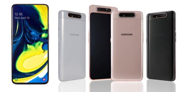 Was Ist Eine Triple Sim Karte.Samsung Bringt Das Galaxy A80 Mit Rotierender Triple Kamera