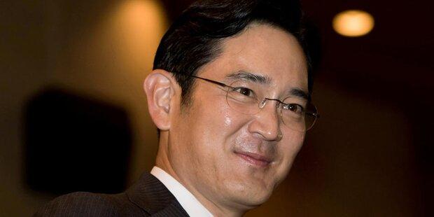 De-facto-Chef von Samsung verhaftet