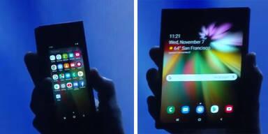 Faltbares Samsung-Handy günstiger als iPhone XS