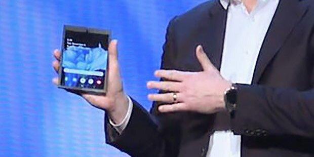 Samsungs faltbares Smartphone bietet geniale Funktion