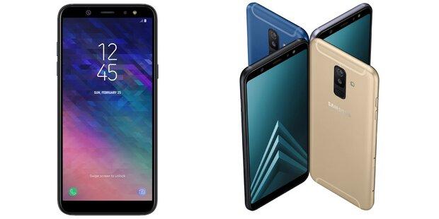 Samsung bringt das Galaxy A6 und A6+
