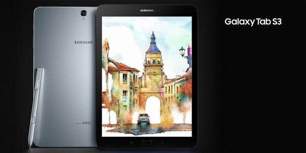 Neues Samsung Galaxy Tab 3 startet
