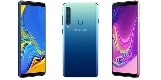 Samsung hat 1. Smartphone mit Vierfach-Kamera
