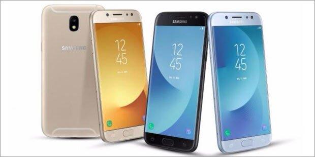 Samsung bringt die Galaxy J (2017)-Serie