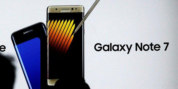 Galaxy Note 7 wird wieder verkauft