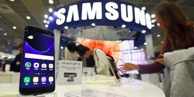 Samsung hat Gewinn mehr als verdoppelt